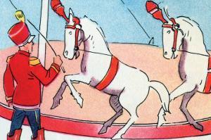 Dancing Horses by Julia Letheld Hahn