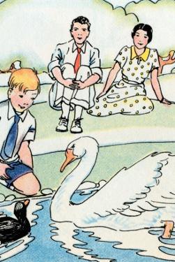 Feeding the Swan by Julia Letheld Hahn