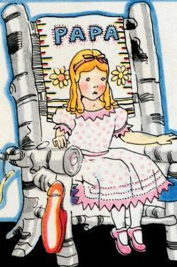 Goldilock Tries Papa Bear's Chair by Julia Letheld Hahn