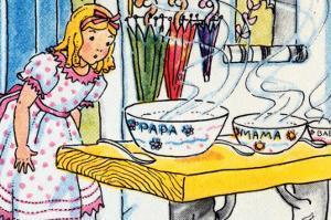 Goldilocks And the Poridge Bowls by Julia Letheld Hahn
