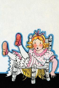Goldilocks Breaks Baby Bear's Chair by Julia Letheld Hahn