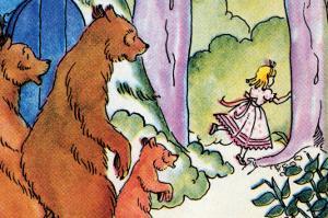 Goldilocks Flees by Julia Letheld Hahn