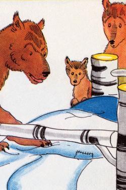 Papa Bear Checks His Bed by Julia Letheld Hahn
