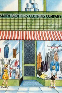 Smith Brothers Clothing Company by Julia Letheld Hahn