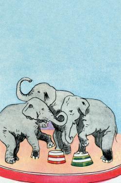 Three Elephants by Julia Letheld Hahn