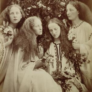 The Rose Bud Garden of Girls by Julia Margaret Cameron