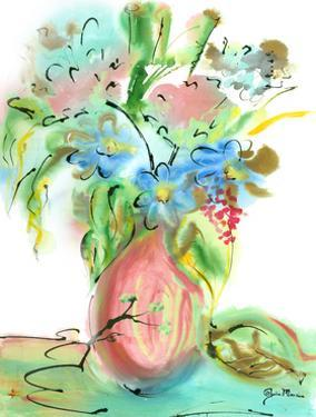 Flower Burst Vase II by Julia Minasian