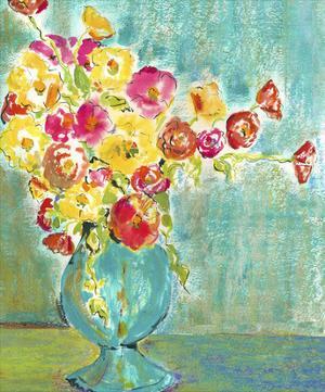Pastel Vase I by Julia Minasian