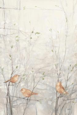 Birds in Trees I Brown by Julia Purinton