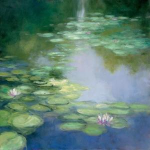 Blue Lily I by Julia Purinton