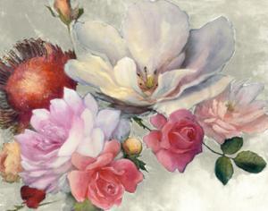 Flemish Fantasy on White by Julia Purinton