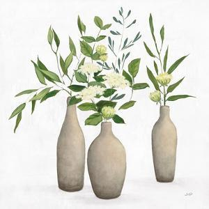 Natural Bouquet I White by Julia Purinton
