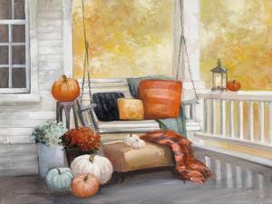 October Porch by Julia Purinton