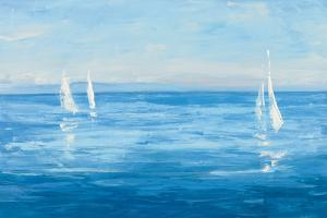 Open Sail with Turquoise by Julia Purinton