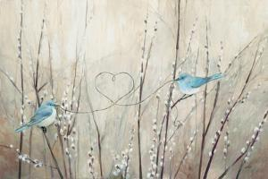 Pretty Birds Neutral String by Julia Purinton