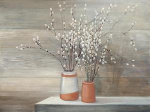 Pussy Willow Still Life by Julia Purinton