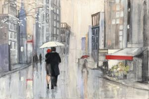 Spring Rain New York by Julia Purinton