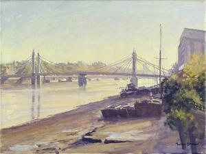 Albert Bridge by Julian Barrow