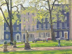 Berkeley Square, South West Corner by Julian Barrow