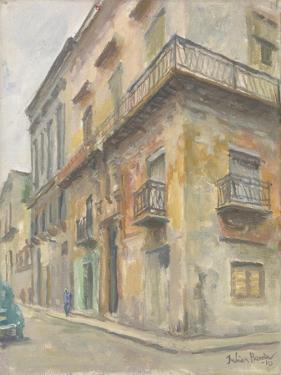 Havana Street Corner, 2010 by Julian Barrow