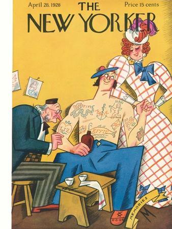 The New Yorker Cover - April 28, 1928