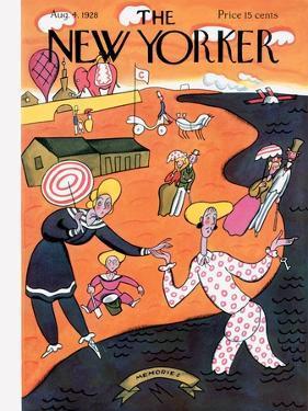 The New Yorker Cover - August 4, 1928 by Julian de Miskey