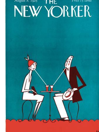 The New Yorker Cover - August 8, 1925