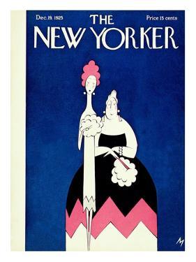 The New Yorker Cover - December 19, 1925 by Julian de Miskey