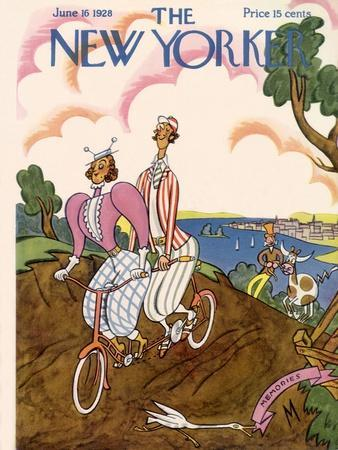 The New Yorker Cover - June 16, 1928