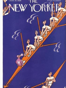 The New Yorker Cover - June 26, 1926 by Julian de Miskey