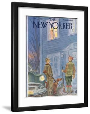The New Yorker Cover - November 21, 1953 by Julian de Miskey