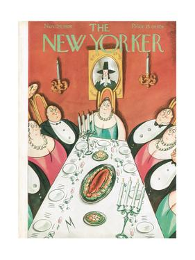 The New Yorker Cover - November 24, 1928 by Julian de Miskey