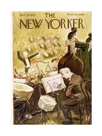 The New Yorker Cover - October 13, 1945