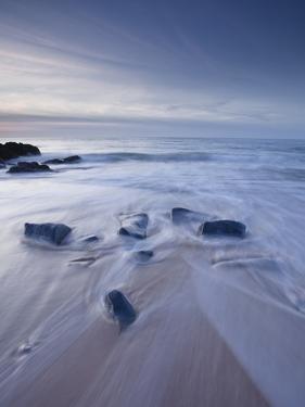 A Beautiful Sandy Beach Near Cap Frehel, Cote D'Emeraude (Emerald Coast), Brittany, France, Europe by Julian Elliott