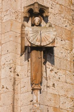 An Old Sundial on Chartres Cathedral by Julian Elliott