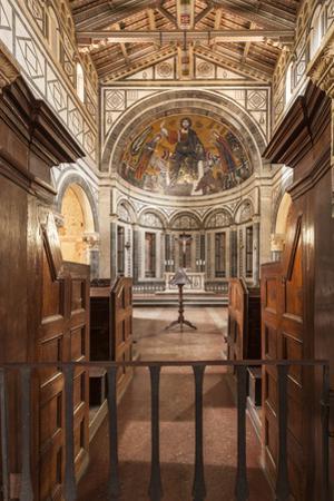 Basilica di San Miniato al Monte, Florence, Tuscany, Italy, Europe by Julian Elliott