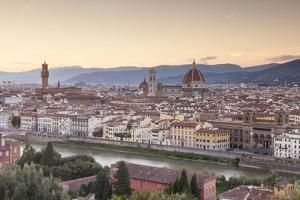 Basilica Di Santa Maria Del Fiore (Duomo) and Skyline of the City of Florencetuscany, Italy, Europe by Julian Elliott