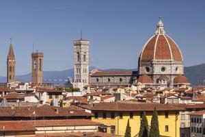 Basilica Di Santa Maria Del Fiore (Duomo), Florencetuscany, Italy, Europe by Julian Elliott
