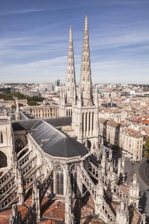Cathedrale Saint-Andre de Bordeaux, Bordeaux, Gironde, Aquitaine, France, Europe by Julian Elliott