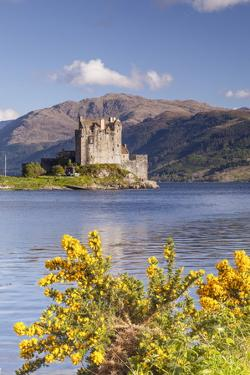 Eilean Donan Castle and Loch Duich, the Highlands, Scotland, United Kingdom, Europe by Julian Elliott