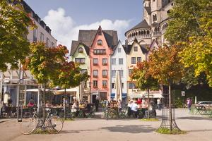 Fischmarkt in the Old Part of Cologne, North Rhine-Westphalia, Germany, Europe by Julian Elliott