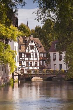 Half Timbered Houses in La Petite France by Julian Elliott