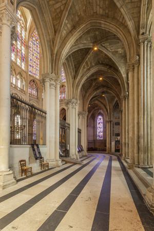 Interior of Saint Gatien cathedral, Tours, Indre-et-Loire, Centre, France, Europe by Julian Elliott