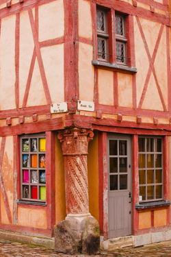 La Maison Du Pilier Rouge in Le Mans, Sarthe, Pays De La Loire, France, Europe by Julian Elliott