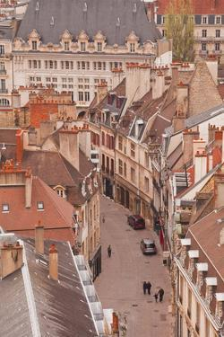 Looking Out over the Rooftops of Dijon, Burgundy, France, Europe by Julian Elliott