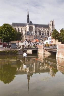 Notre Dame D'Amiens Cathedral, UNESCO World Heritage Site, Amiens, Somme, Picardy, France, Europe by Julian Elliott