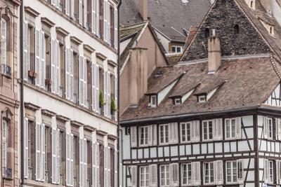 Old houses in La Petite France, Strasbourg, Bas Rhin, Alsace, France, Europe by Julian Elliott