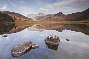 Blea Tarn and the Langdale Pikes. by Julian Elliott Photography