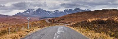 The Road Leading to Glen Brittle. by Julian Elliott Photography