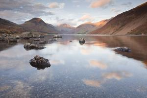 Wast Water and the Scafell Fell Range. by Julian Elliott Photography